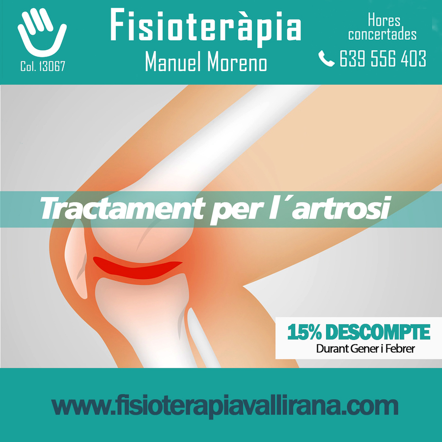 Tractament artrosi en Vallirana